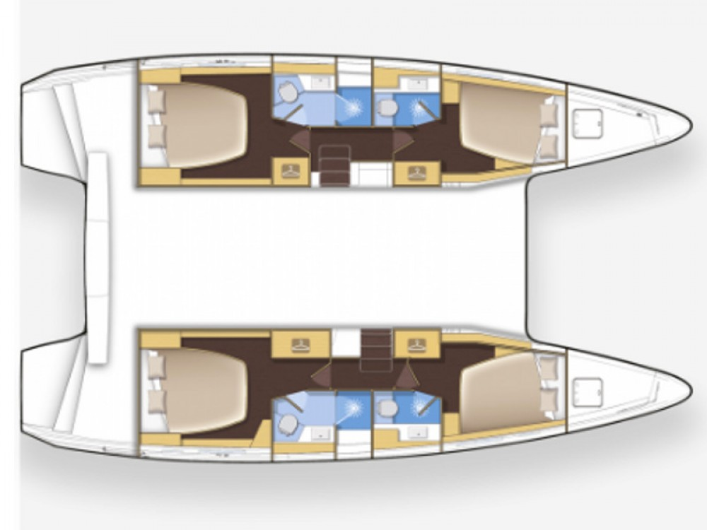 Noleggio barche Leucade economico Lagoon 42