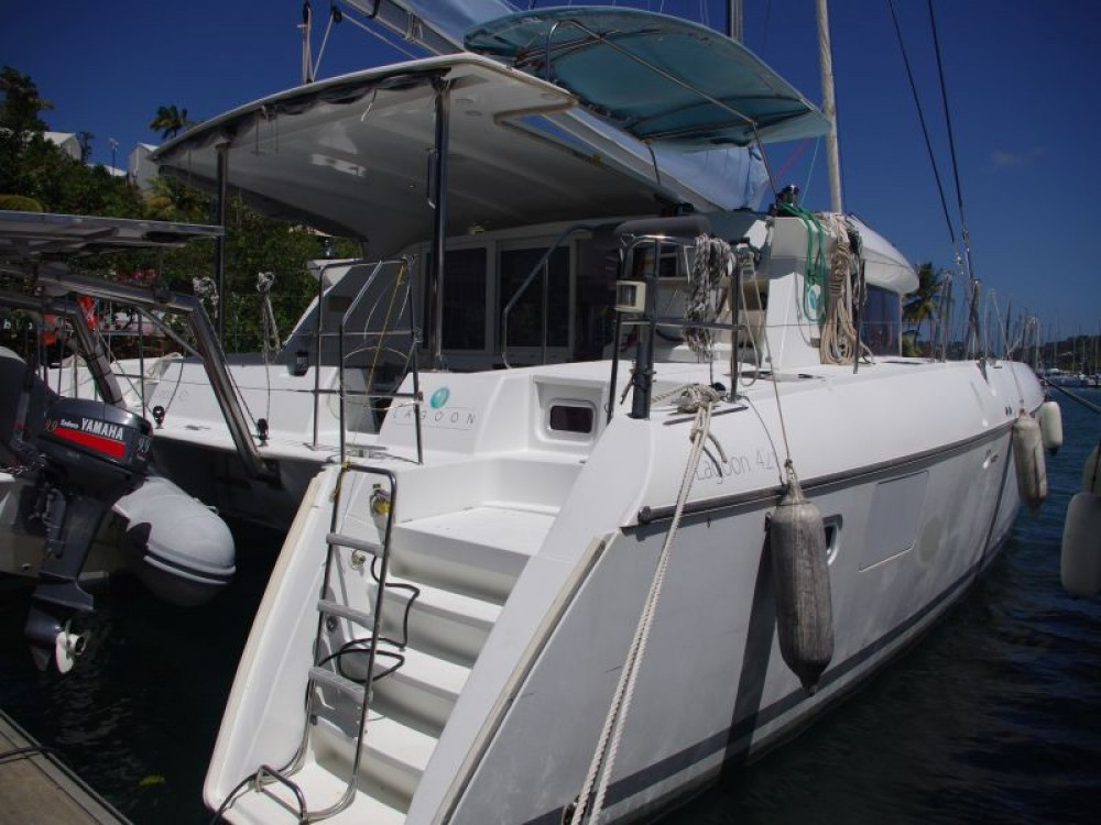 Noleggio yacht Ciudad de Cienfuegos - Lagoon Lagoon 421 su SamBoat