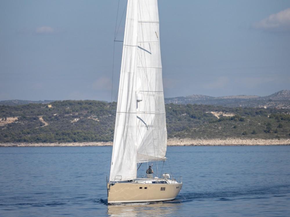 Noleggio Barca a vela Hanse con una patente