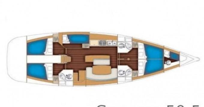 Noleggio Barca a vela a Atene – Bénéteau Cyclades 50.5
