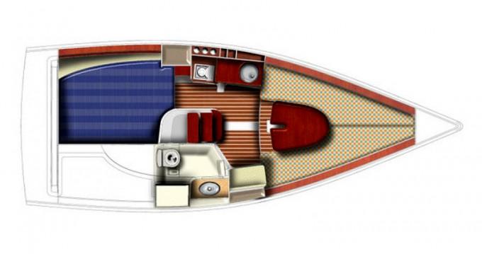 Noleggio Barca a vela a Yerseke – Jeanneau Sun 2500