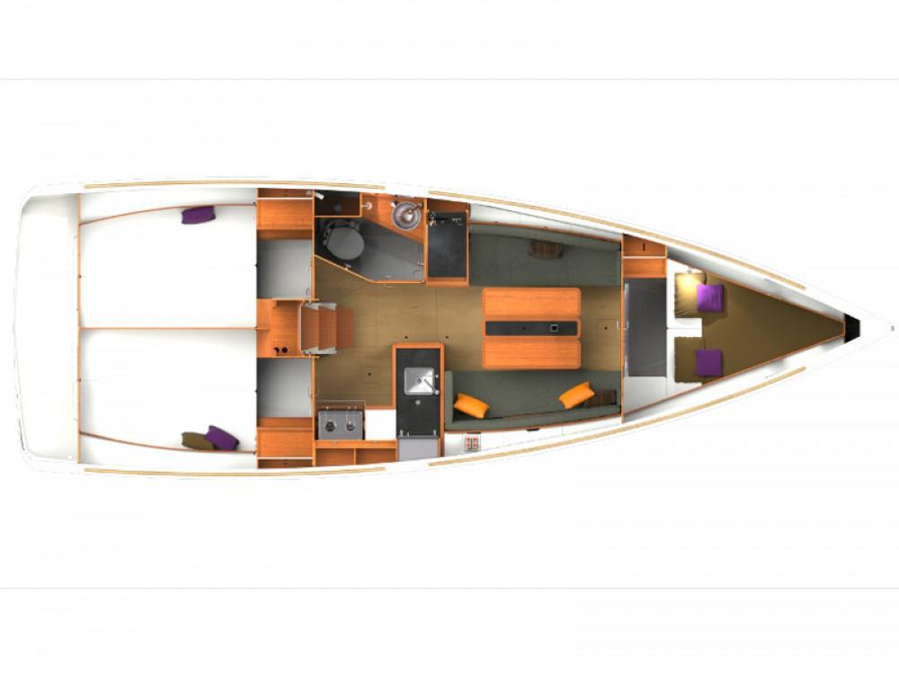 noleggio Barca a vela Porto di Alimos - Jeanneau Sun Odyssey 349