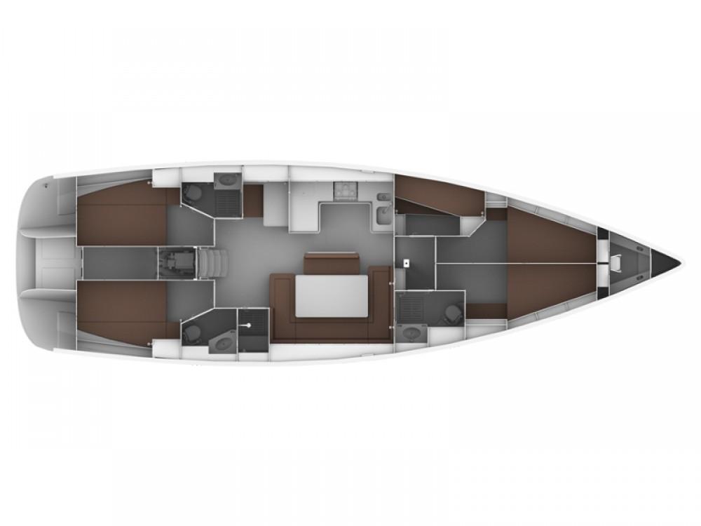 noleggio Barca a vela Follonica - Bavaria Bavaria Cruiser 50