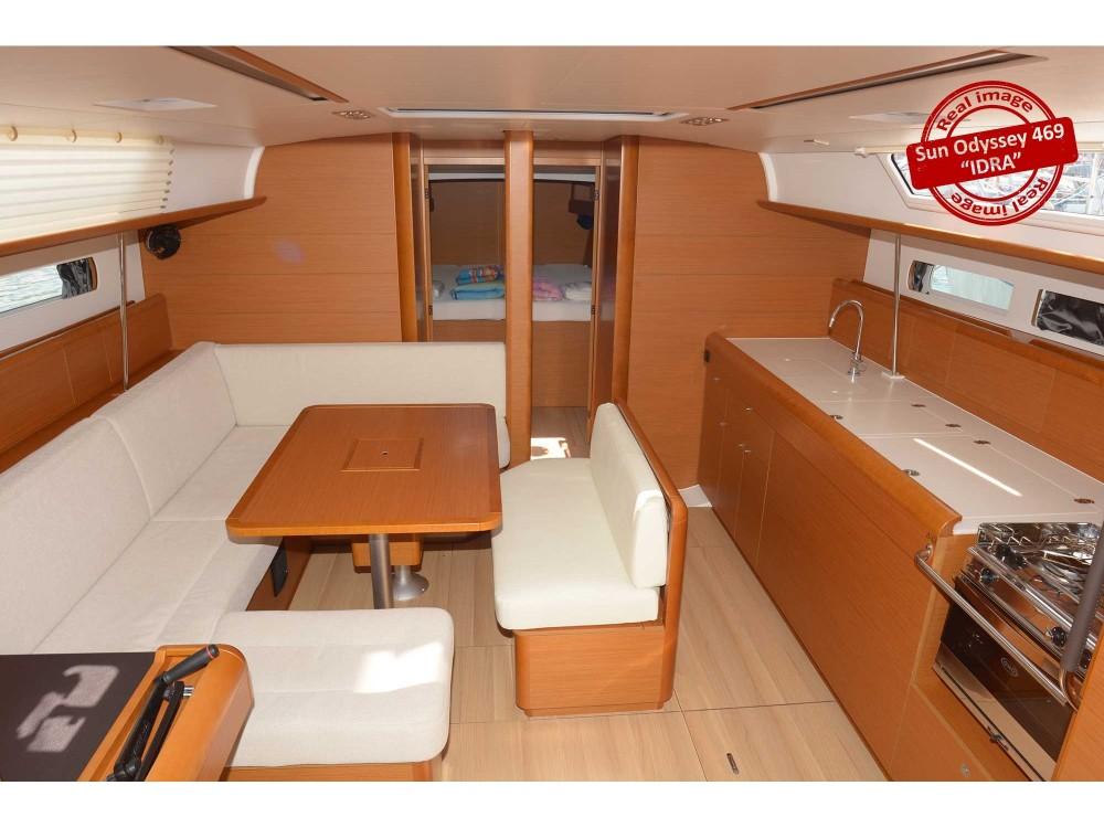 Noleggio barche Follonica economico Sun Odyssey 469