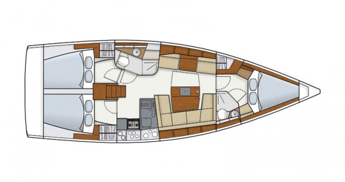 Noleggio Barca a vela a Follonica – Hanse Hanse 415