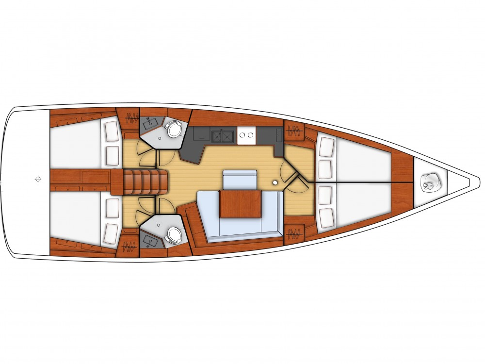 Noleggio yacht Follonica - Bénéteau Oceanis 45 su SamBoat