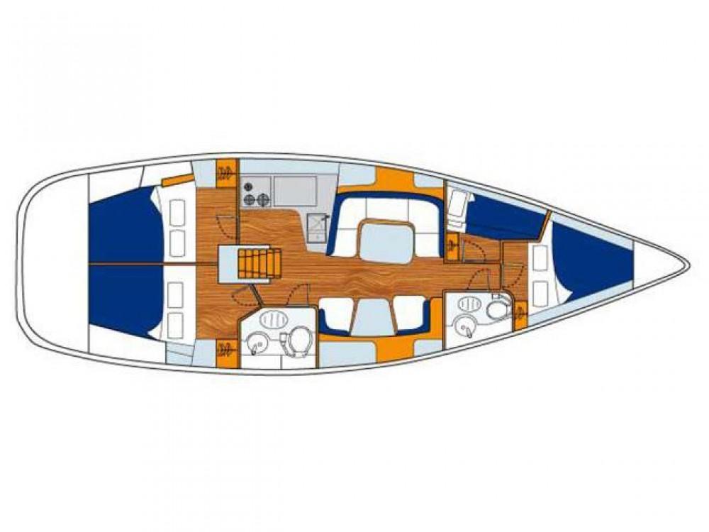 noleggio Barca a vela Follonica - Jeanneau Sun Odyssey 43