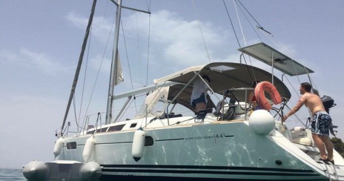 Noleggio barche Jeanneau Jeanneau Sun Odyssey 44i a Lefkada (Isola) su Samboat