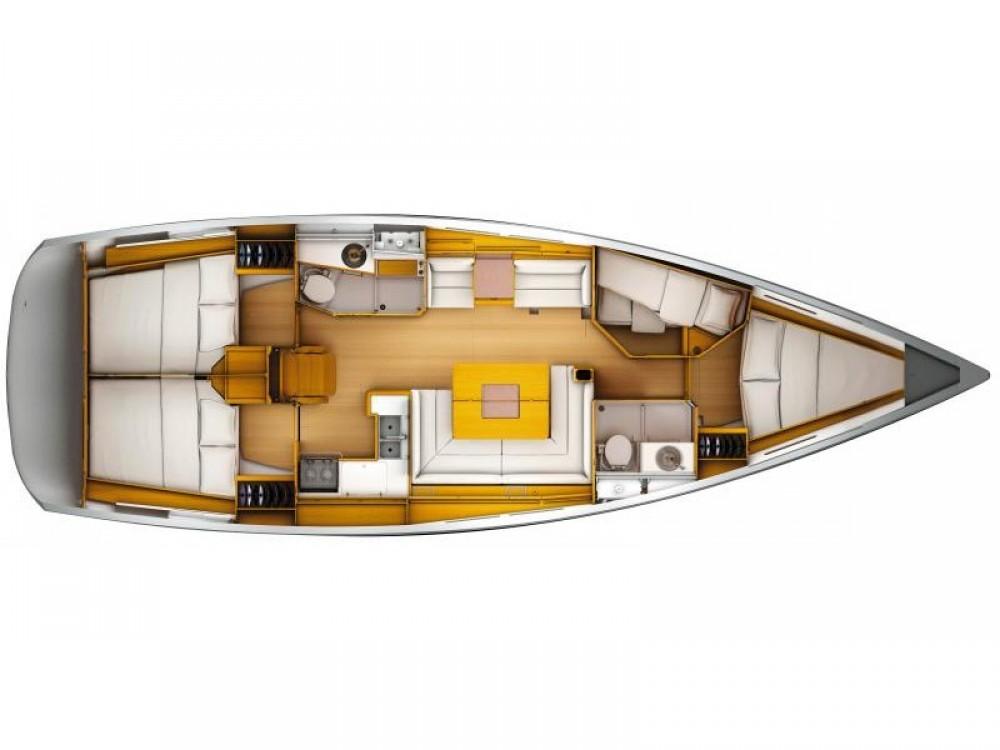 Barca a vela a noleggio Nettuno al miglior prezzo