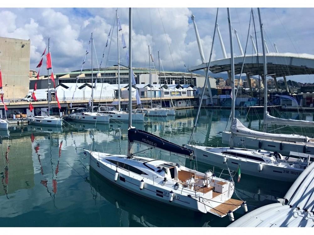 Noleggio Barca a vela Azuree con una patente