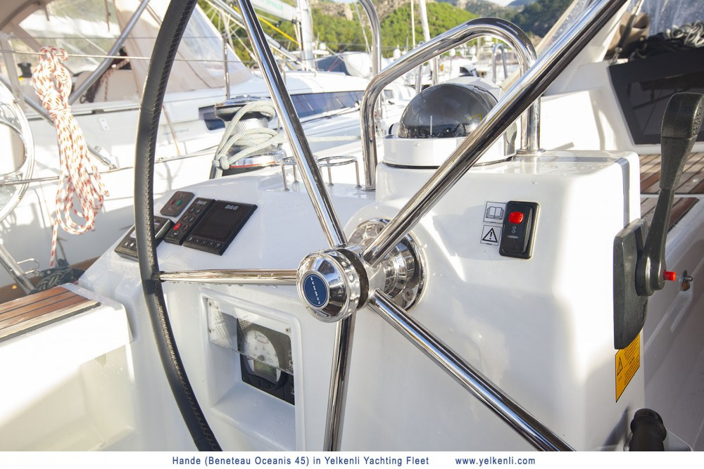 Noleggio barche Bénéteau Oceanis 45 (2018)  su Samboat