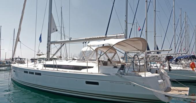 Noleggio yacht a Split – Jeanneau Sun Odyssey 509 su SamBoat