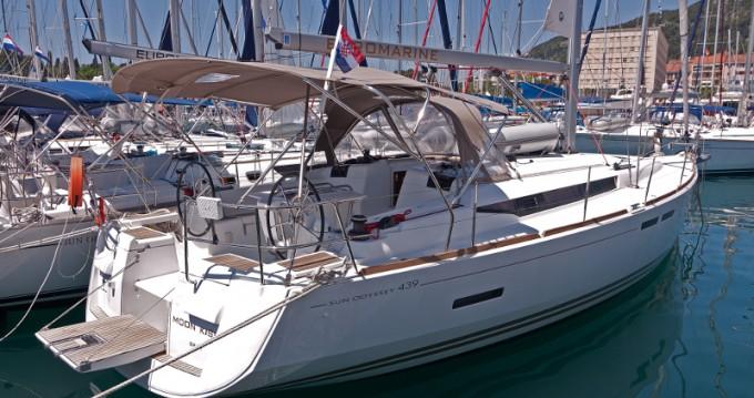 Noleggio barche Jeanneau Sun Odyssey 439 a Split su Samboat