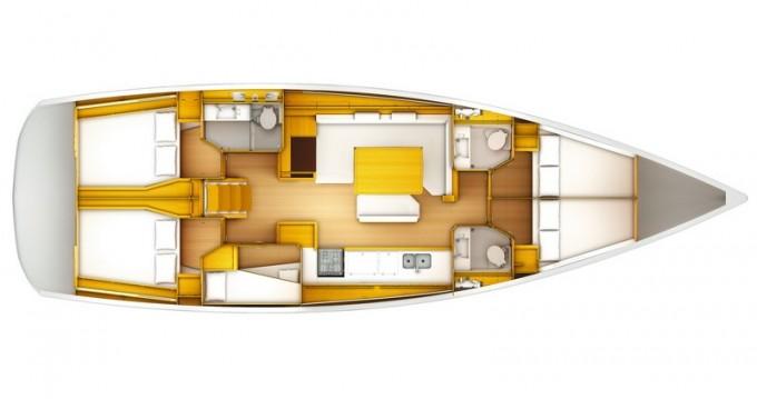 Noleggio barche Split economico Sun Odyssey 509