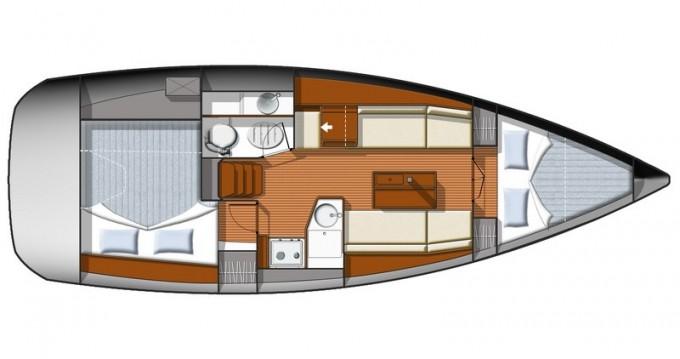 Noleggio Barca a vela a Split – Jeanneau Sun Odyssey 33i