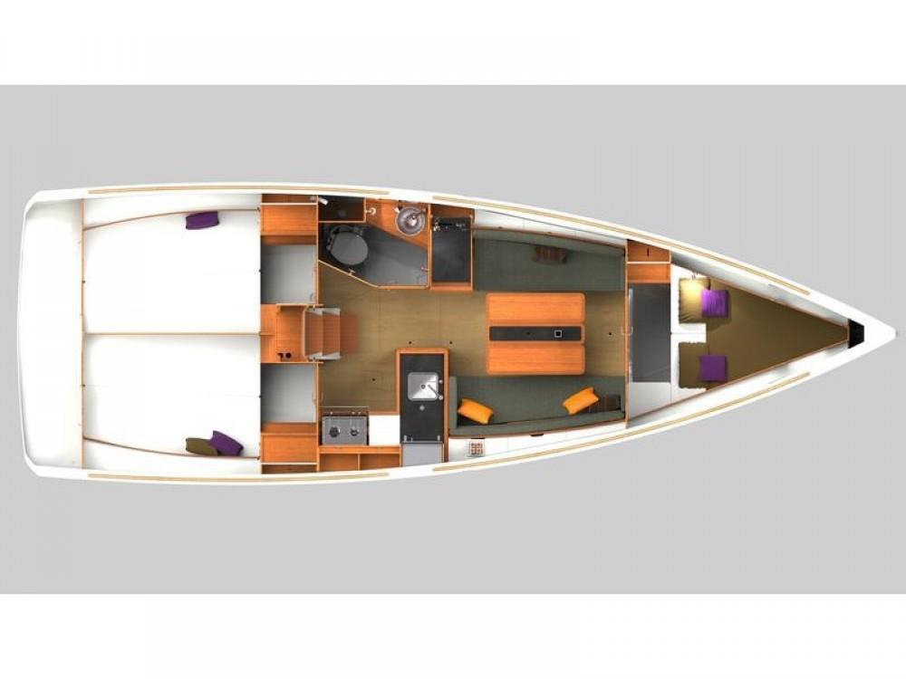 Noleggio barche Jeanneau Sun Odyssey 349 Spalato su Samboat
