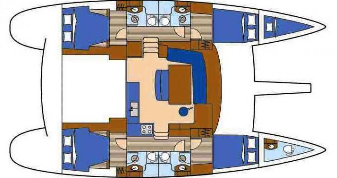 Noleggio Catamarano a Traù – Lagoon Lagoon 440