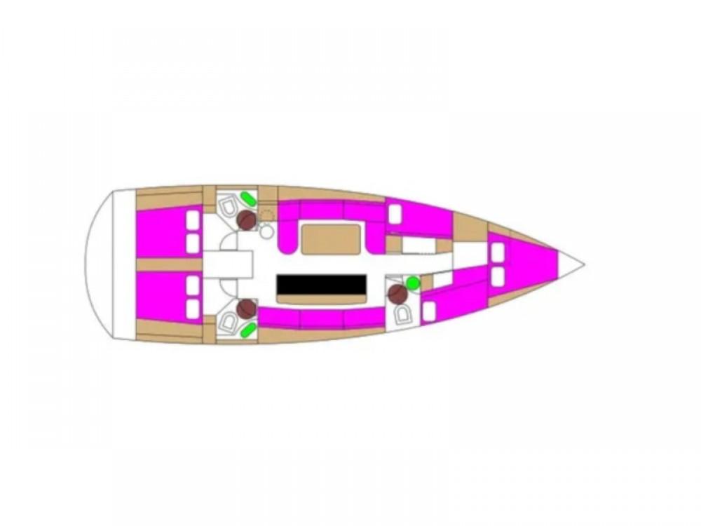 noleggio Barca a vela Traù - D&d D&D Kufner 50
