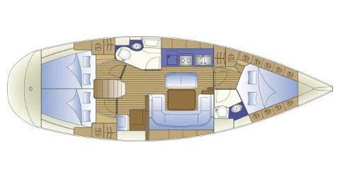Noleggio Barca a vela a Traù – Bavaria Bavaria 41