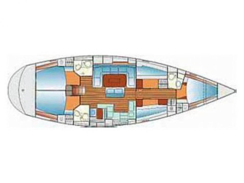 Noleggio barche ACI Marina Split economico Bavaria 50 Cruiser