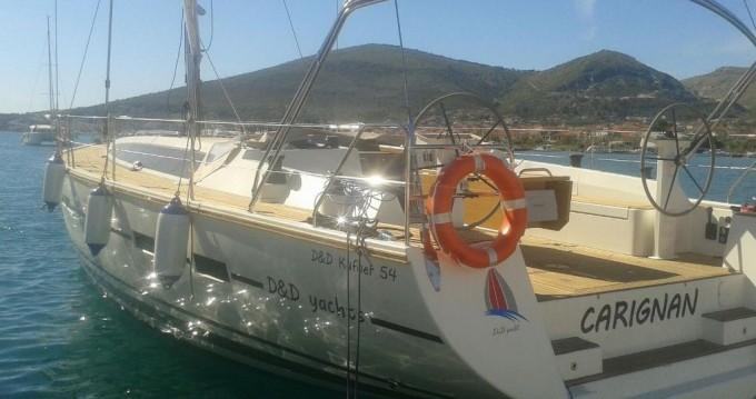 Noleggio Barca a vela a Traù – D&D Yacht D&D Kufner 54.1