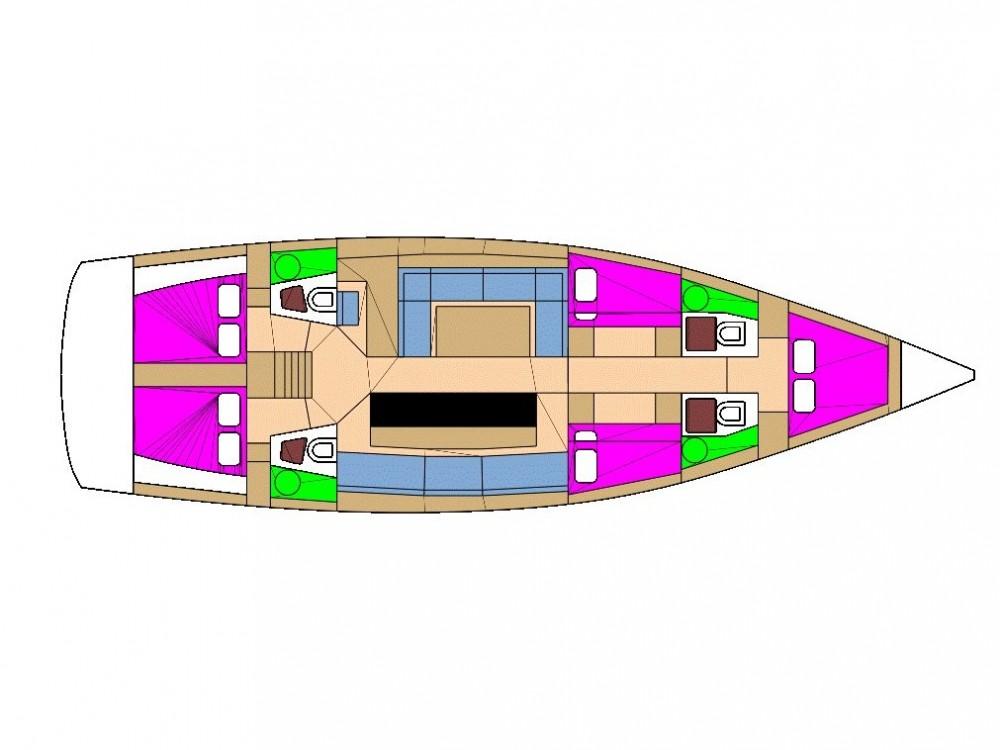 noleggio Barca a vela Krk - D&d D&D Kufner 54.2