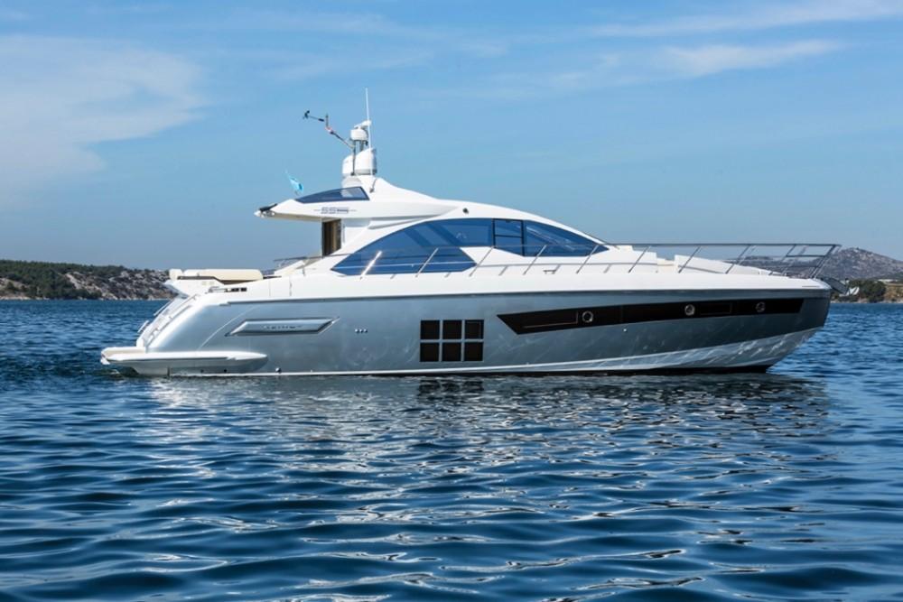 Noleggio barche Sebenico economico Azimut 55 S
