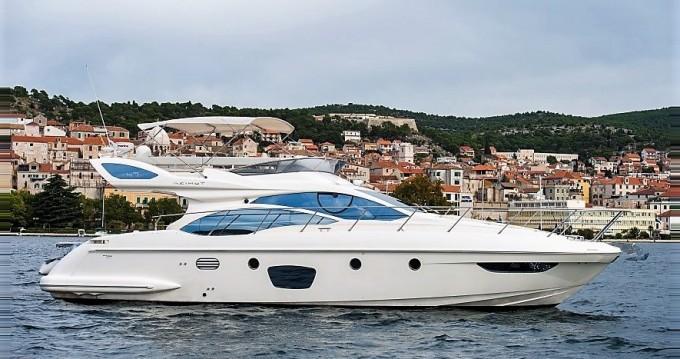 Noleggio barche Sebenico economico Azimut 47 Fly