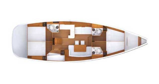 Noleggio yacht a Kos – Jeanneau Jeanneau 53 su SamBoat