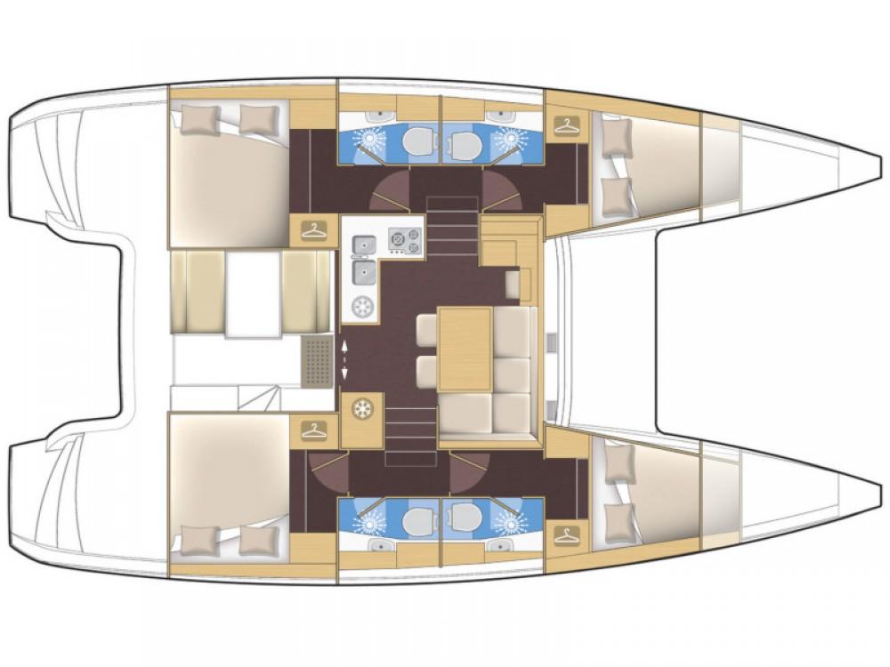 Noleggio yacht Rodi - Lagoon Lagoon 39 su SamBoat