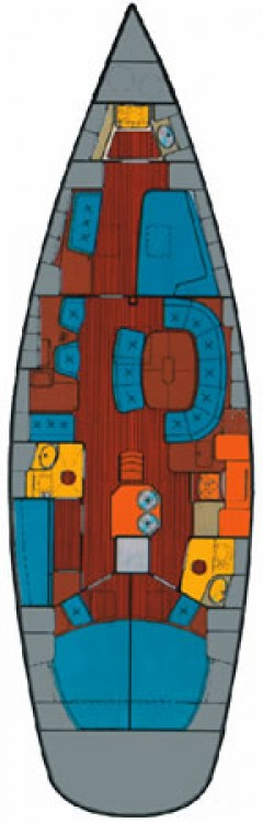 Noleggio barche Bavaria Bavaria 51 Cruiser Skiathos su Samboat