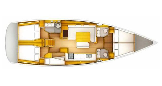 Noleggiare una Jeanneau Sun Odyssey 509 a Kos