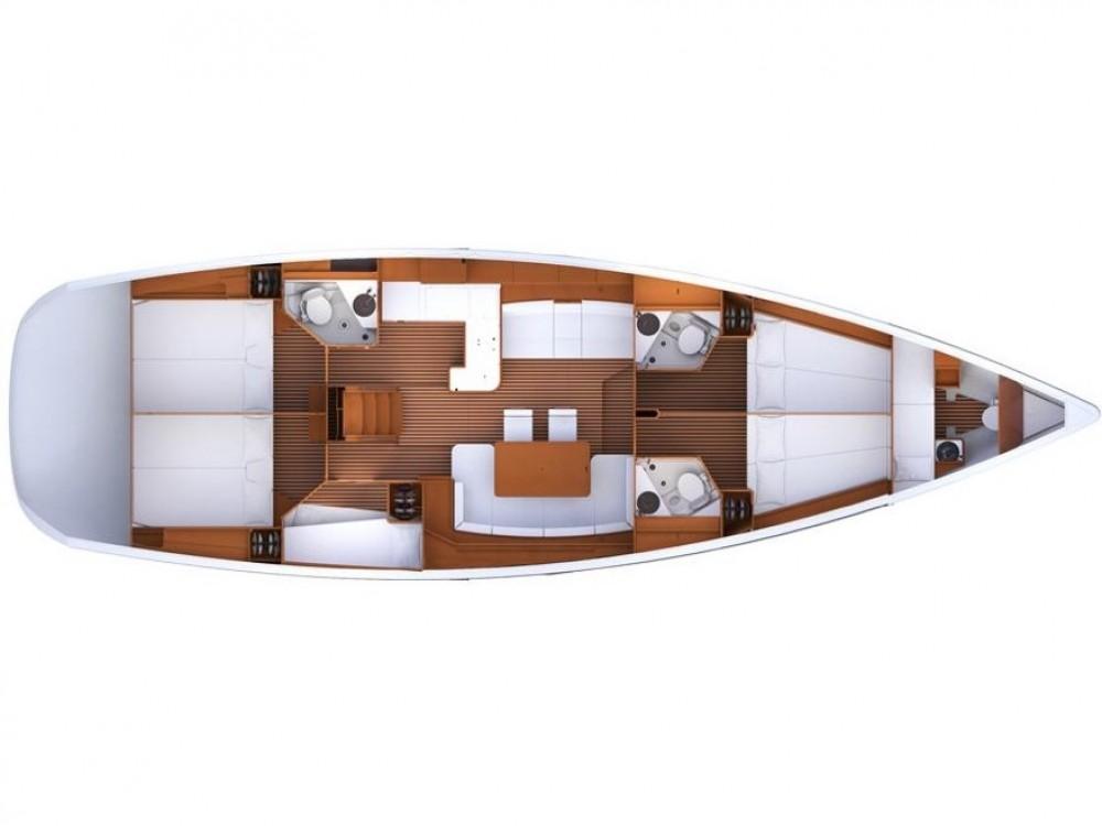 Noleggio barche Álimos economico Jeanneau 53