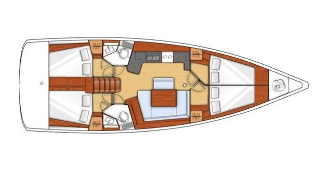Noleggio Barca a vela con o senza skipper Bénéteau a Kos