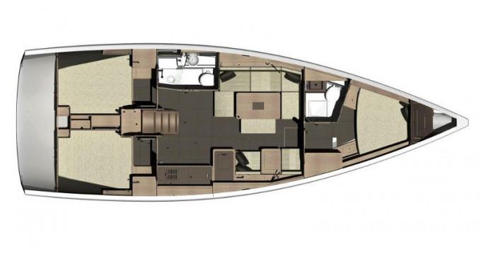 Noleggio Barca a vela a Rogoznica – Dufour Dufour 410 Grand Large