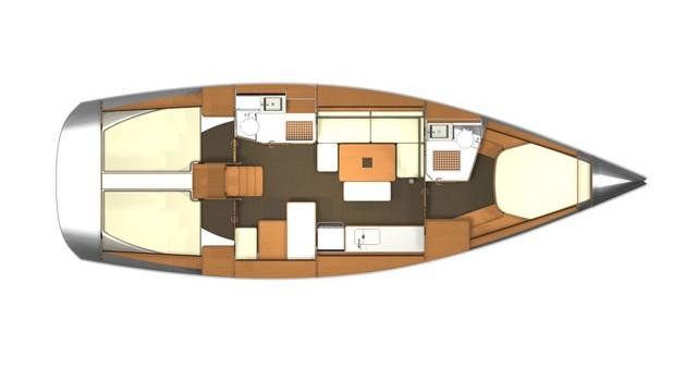 Noleggio yacht a Rogoznica – Dufour Dufour 405 Grand Large su SamBoat