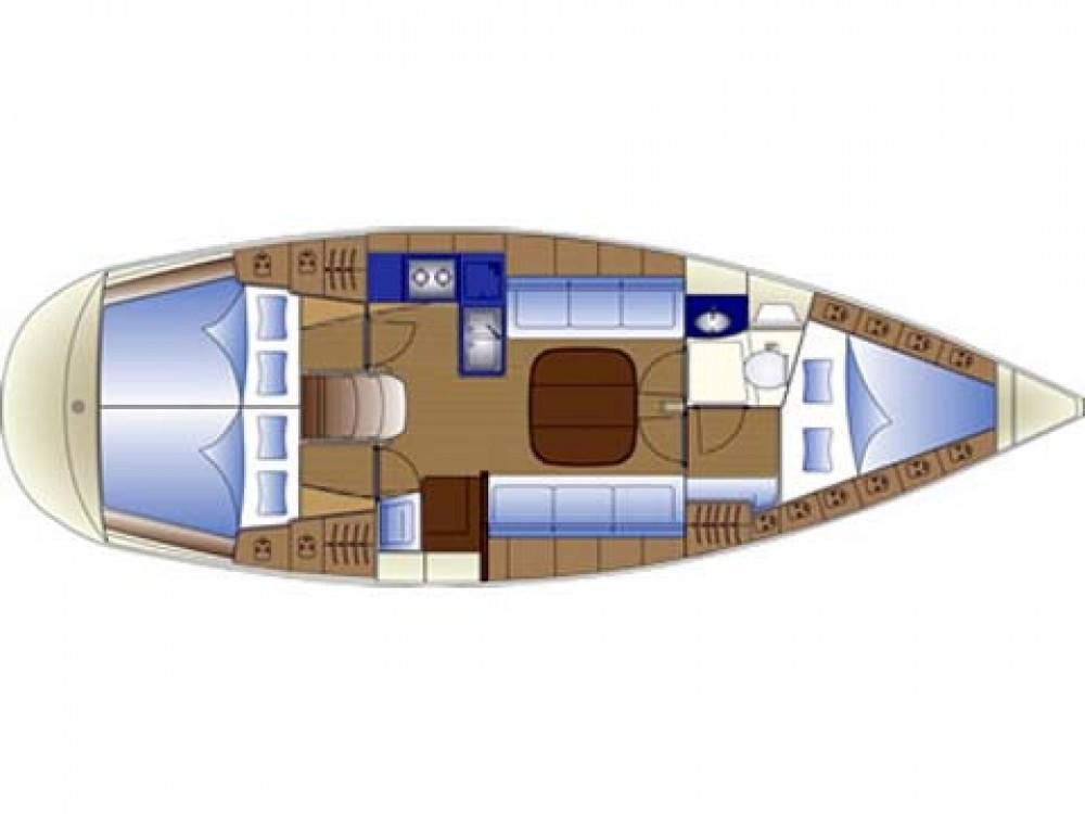 Noleggio barche Skiathos economico Bavaria 36