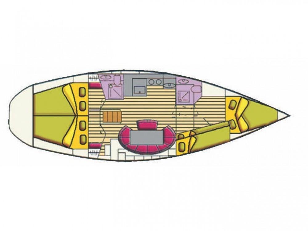 noleggio Barca a vela Cala dei Sardi - Bavaria Bavaria 44