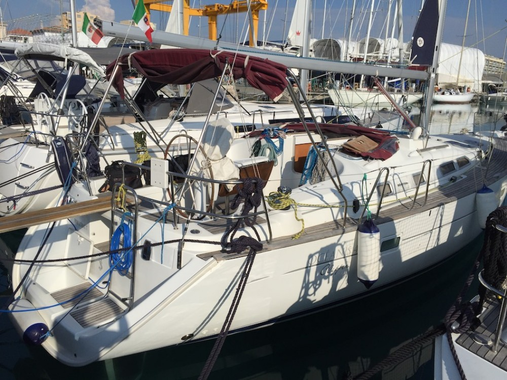 noleggio Barca a vela Cala dei Sardi - Bénéteau Oceanis Clipper 423