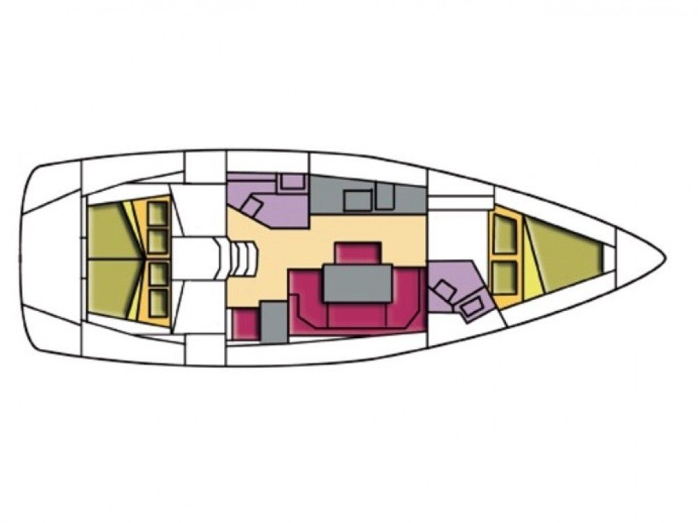 Noleggio barche Castiglioncello economico Bavaria Cr 41