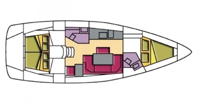 Noleggio barche Bavaria Bavaria Cr 41 a Portisco su Samboat