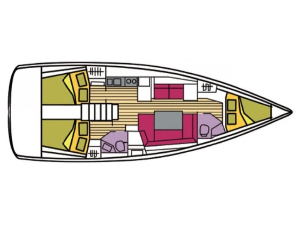 noleggio Barca a vela Castiglioncello - Bénéteau Oceanis 41