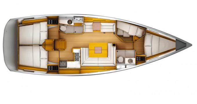 Noleggiare una Jeanneau Sun Odyssey 449 a Agropoli