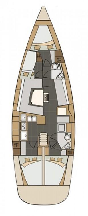 Noleggio yacht Zara - Elan Elan Impression 45 su SamBoat