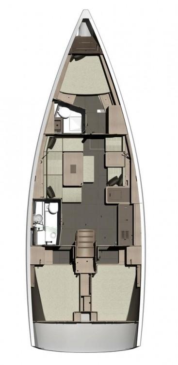 noleggio Barca a vela Primorsko-Goranska Županija - Dufour Dufour 412 Grand Large