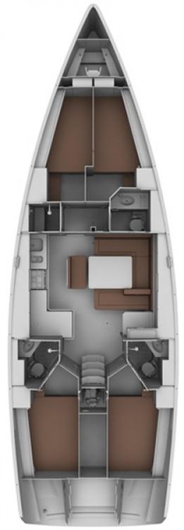 noleggio Barca a vela Croazia - Bavaria Cruiser 45