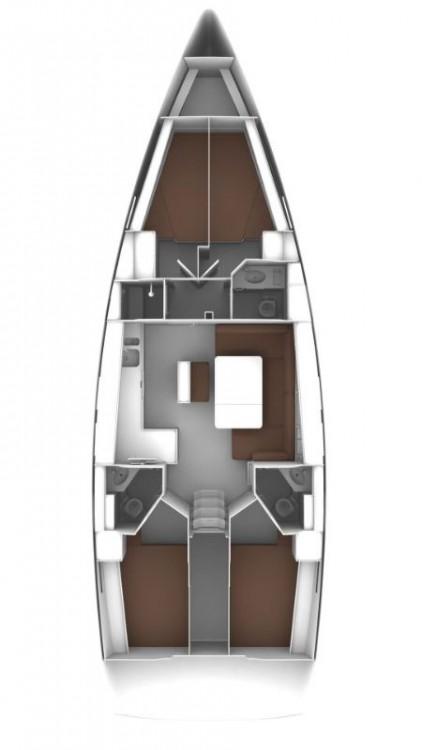 noleggio Barca a vela Croatie - Bavaria Cruiser 46