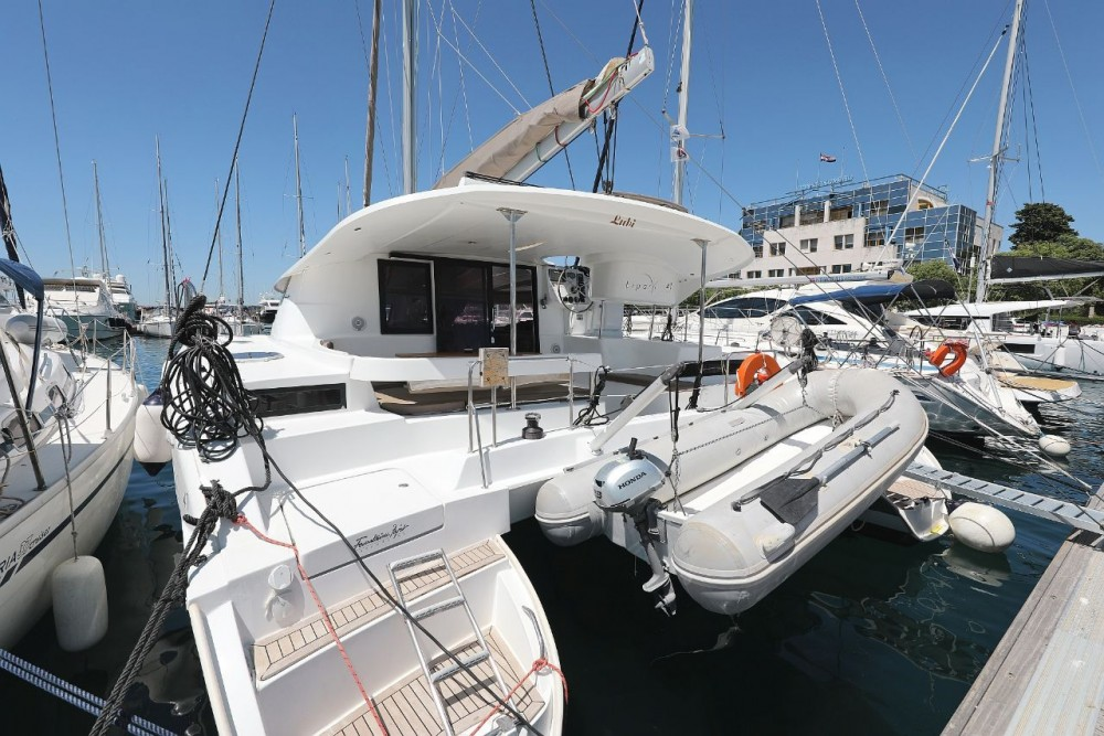 Noleggio yacht Zara - Fountaine Pajot Lipari 41 su SamBoat