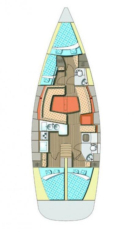 Noleggio barche Croazia economico Elan Impression 45