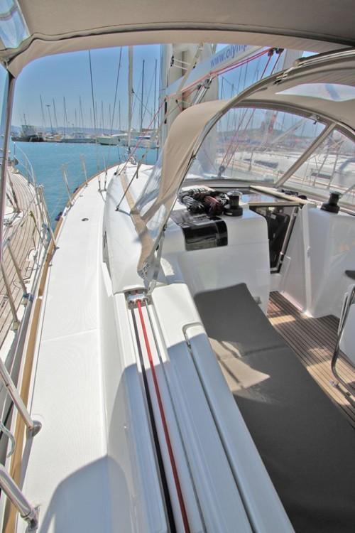 Jeanneau Sun Odyssey 449 tra personale e professionale South Aegean